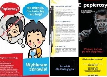 Ilustracja do informacji: Akcja informacyjna w szkołach