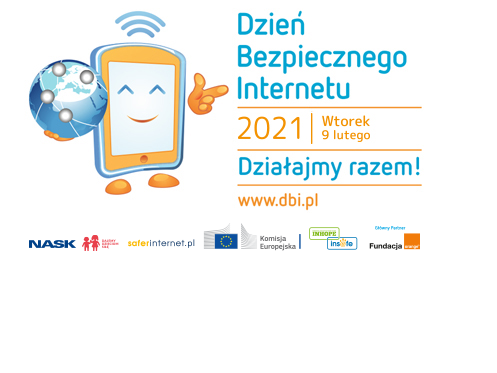 Ilustracja do informacji: Dzień Bezpiecznego Interrnetu